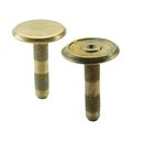 30mm Flat Brass Marker with Center Point