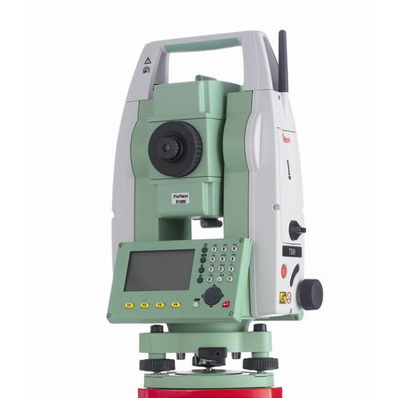 Surveying equipment leica ts09 1sec total station package