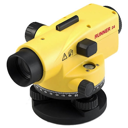 surveying equipment: leica runner 24 automatic level